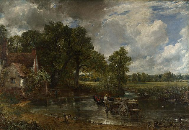 water meadows painting
